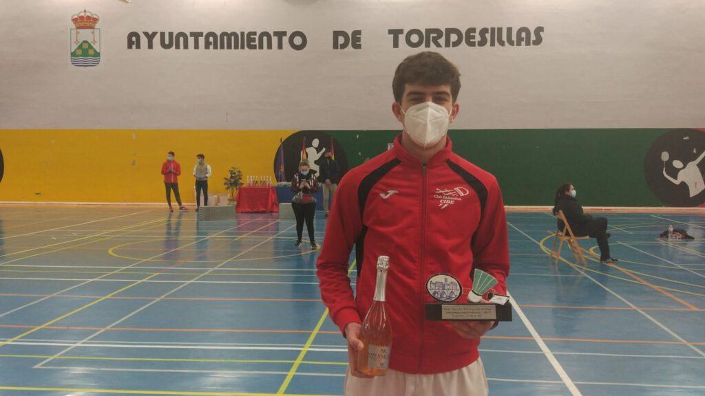 club badminton CIDE Alexander Parmentier Tordesillas